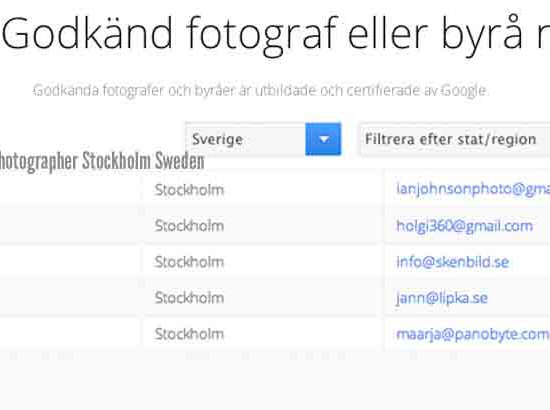 Google's Top Performing fotograf