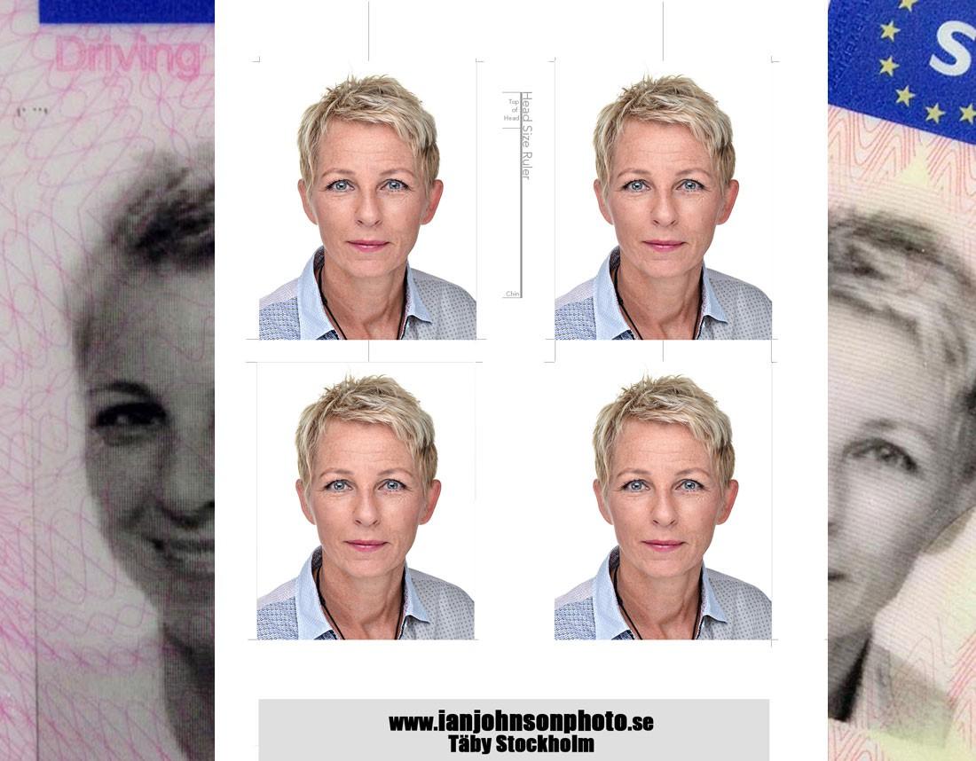 körkortsfoto passfoto