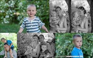 familjeporträtt täby utomhus studios