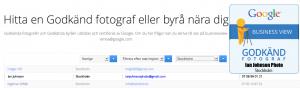 google företag fotograf stockholm